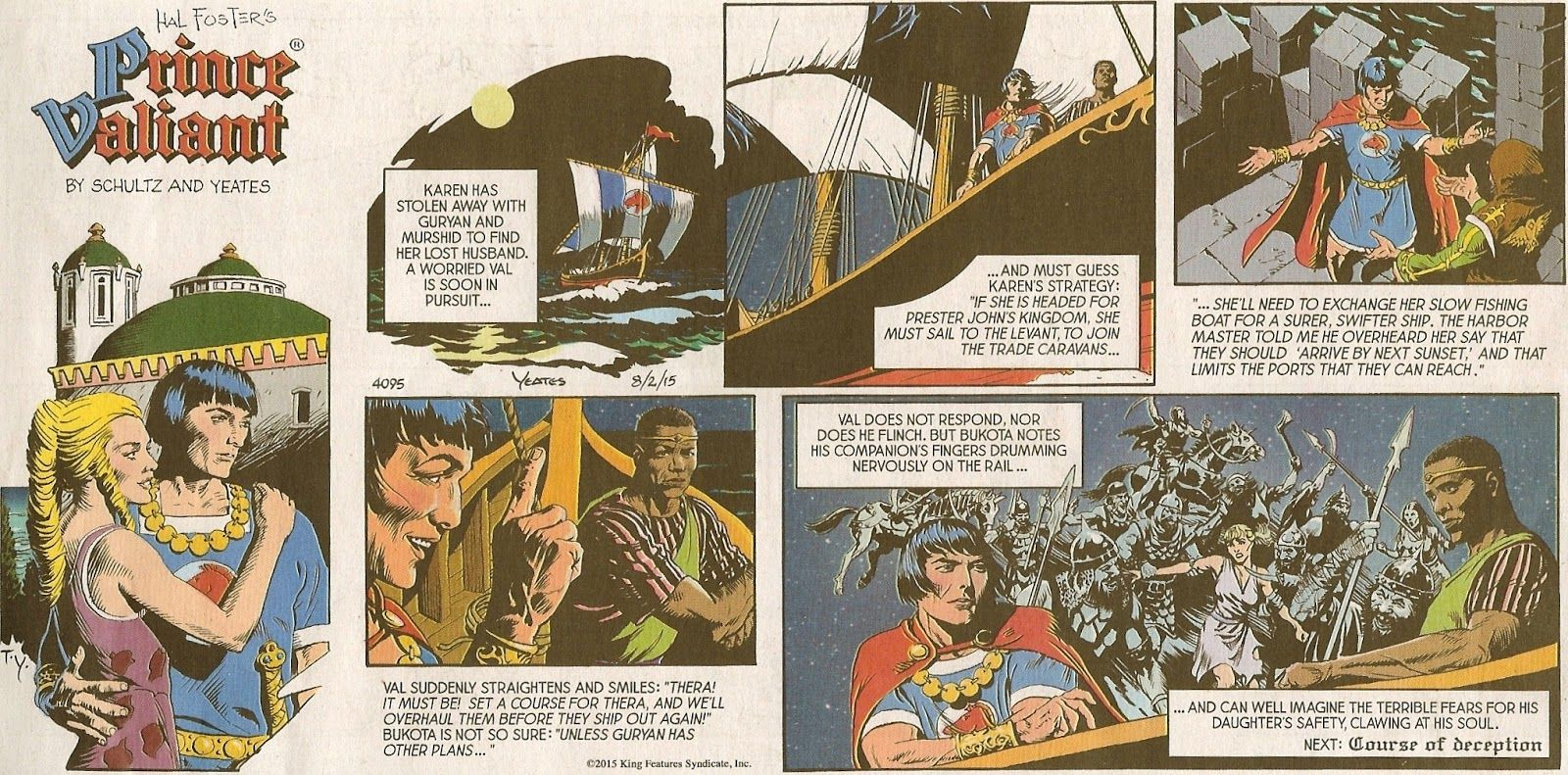 Rather good comic image prince strip valiant think, that