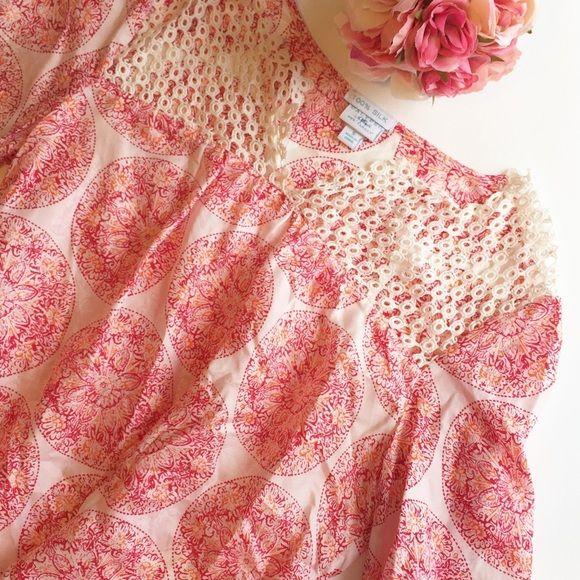 •FINAL PRICE• Silk calypso st Barth blouse GUC (for target)  •no trades• Calypso St. Barth Tops Blouses
