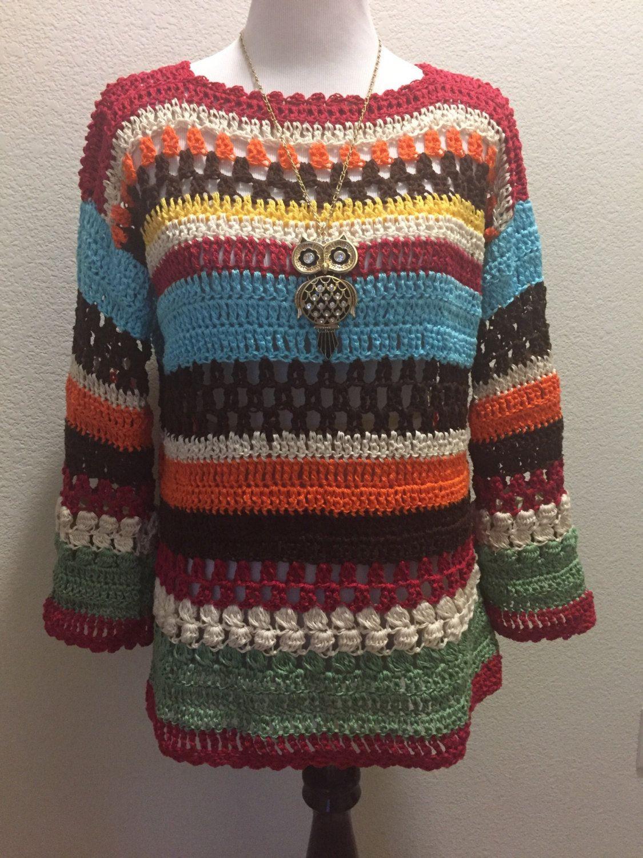Resultado de imagem para sueter heart crochet pinterest | roupas de ...