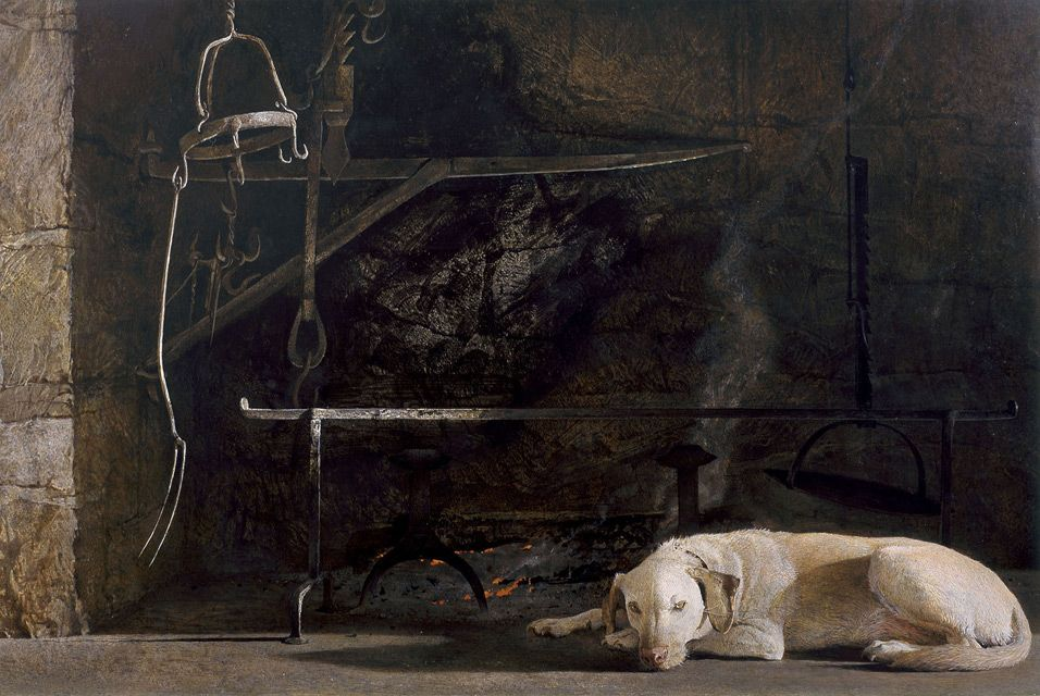 Andrew Wyeths Ides of March: The making of a masterpiece exhibition on view at Brandywine River Museum