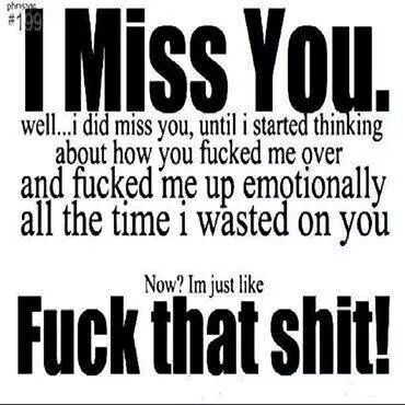 I Dont Miss You Anymore Quotes Pinterest Quotes Miss You