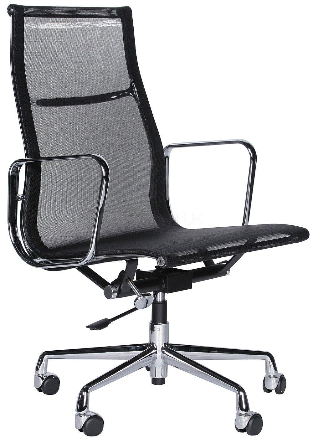Office Aluminium Group Chair Mesh Ea119 Charles E Office