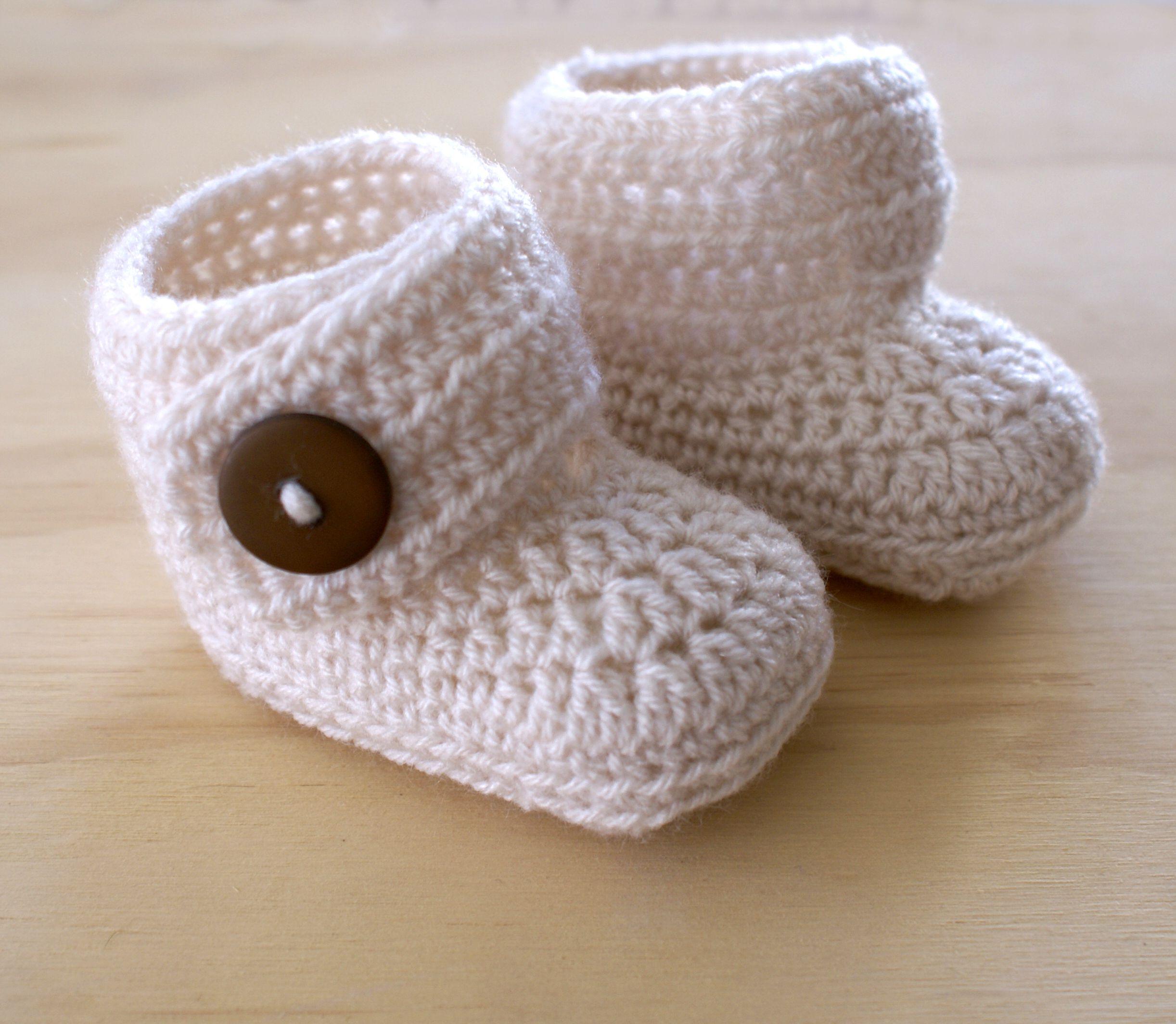 Escarpines a crochet paso a paso facil