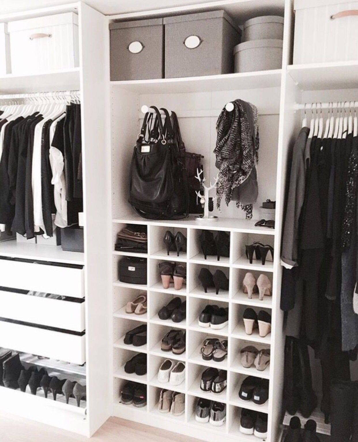 Gorgeous, Organized Walk-in Closet.