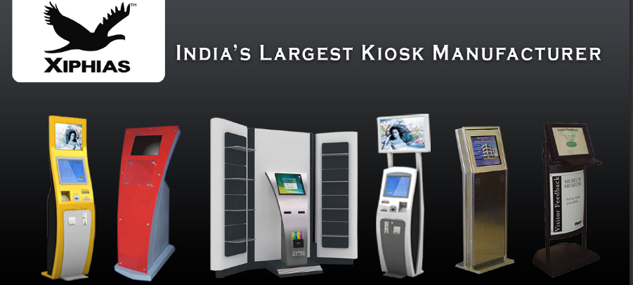 Xiphias is the number one company which provides the kiosks