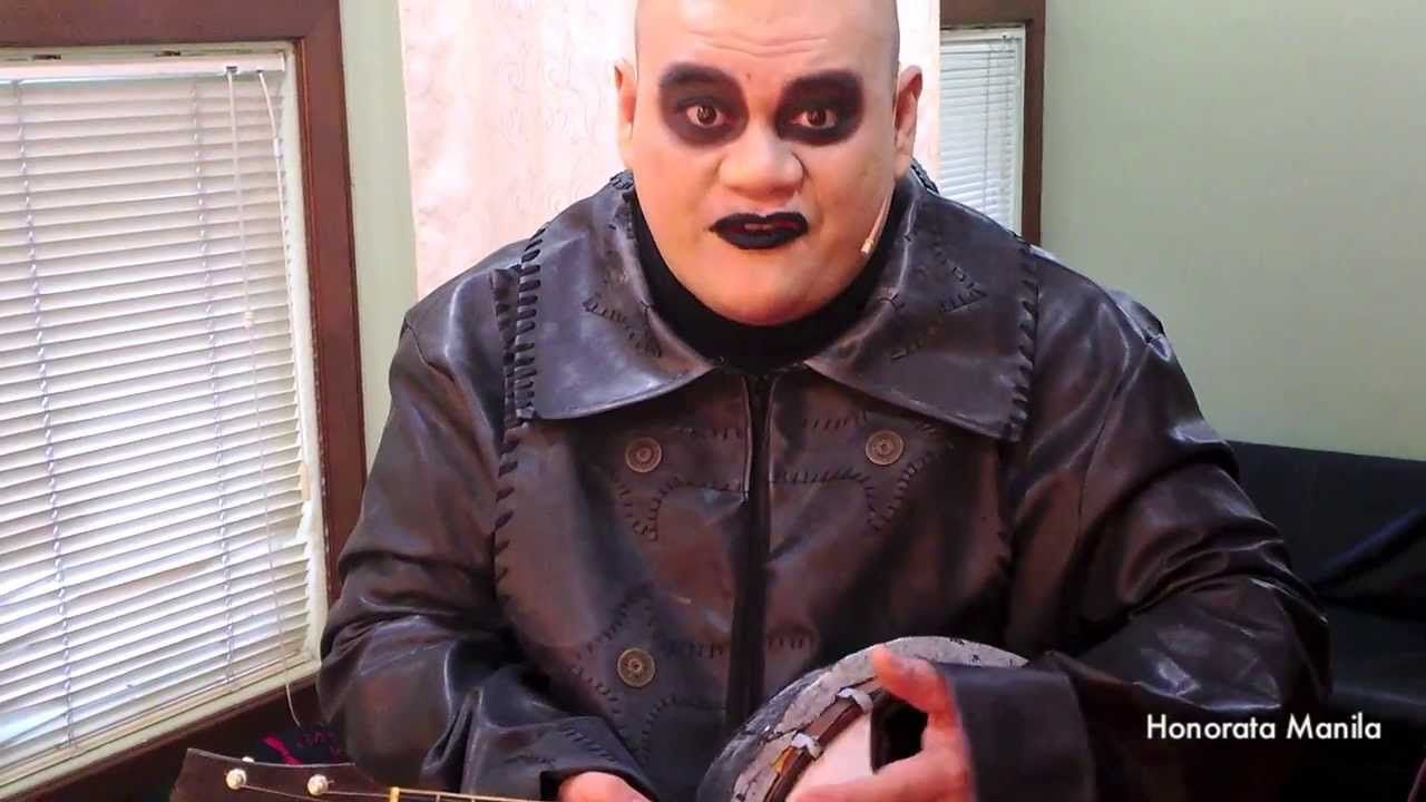 Uncle fester the addams family pinterest - Jamie Wilson Transforms To Uncle Fester