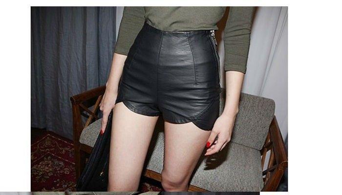 Licras Para Mujer Cortas Buscar Con Google Pantalones Cortos De Cuero Ropa Ropa Deportiva Mujer
