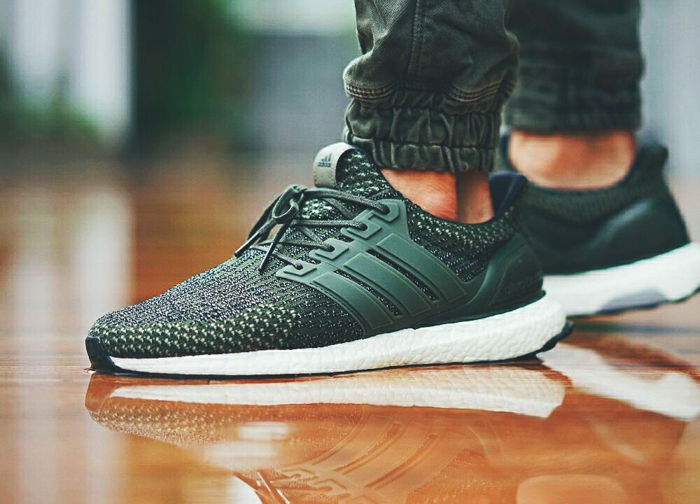 23109b1c3 Adidas Ultra Boost 3.0  Trace Cargo   Military Green  - 2017 (by Rusli  Budiyanto) Clean and care for your sneakers with shoe trees by Sole Trees   Sneakers ...