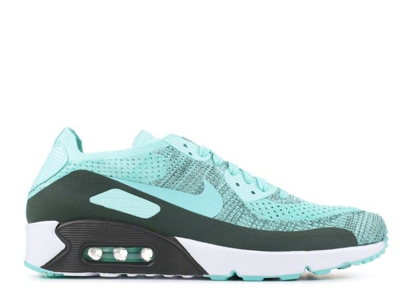 huge discount 312ac 1612e Vente Pas ChèRe Nike Air Max 90 Ultra 2 0 Flyknit Homme Hyper Turquoise  875943-301