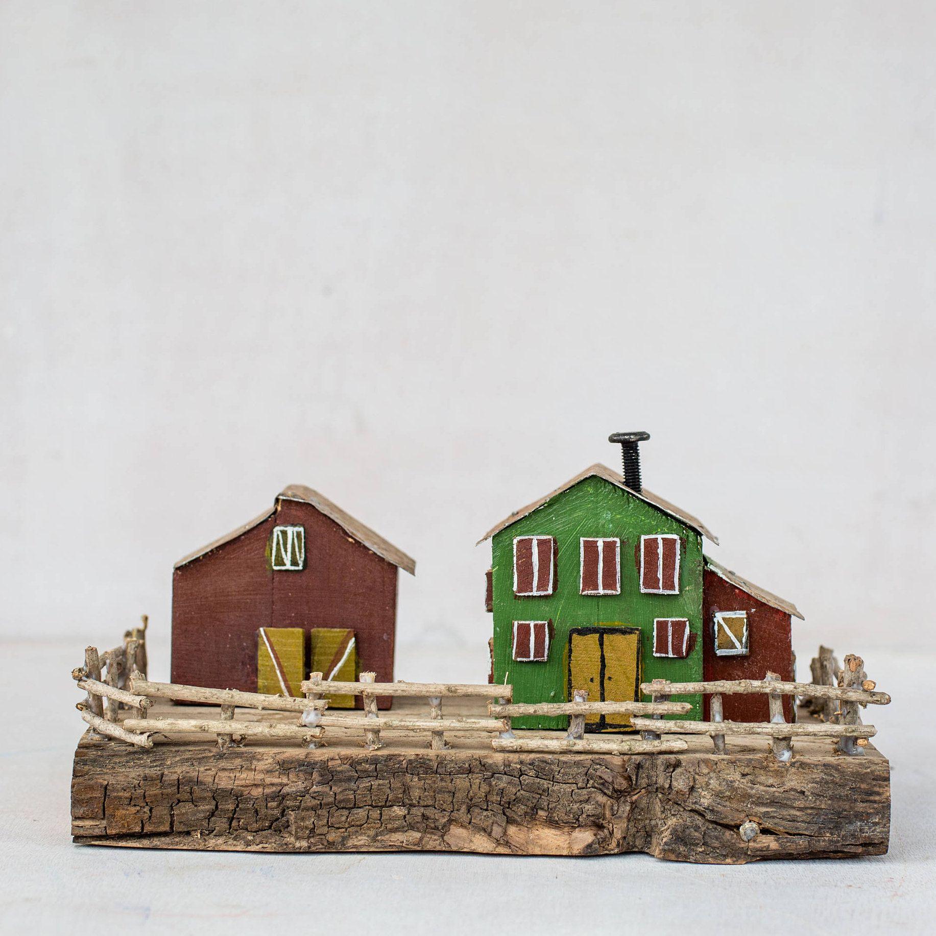 wood house, tiny house, driftwood, driftwood art, driftwood ...