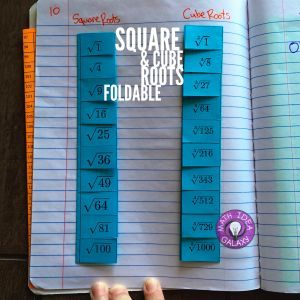 Other Ways To Use Foldables In Math Class  Math Classroom