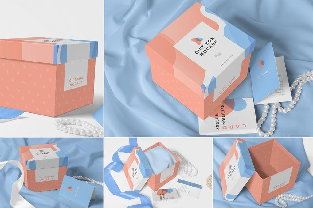Download 25 Gorgeous Gift Box Mockup Psd Templates Mockuptree Luxury Gift Box Magnetic Gift Box Gift Box