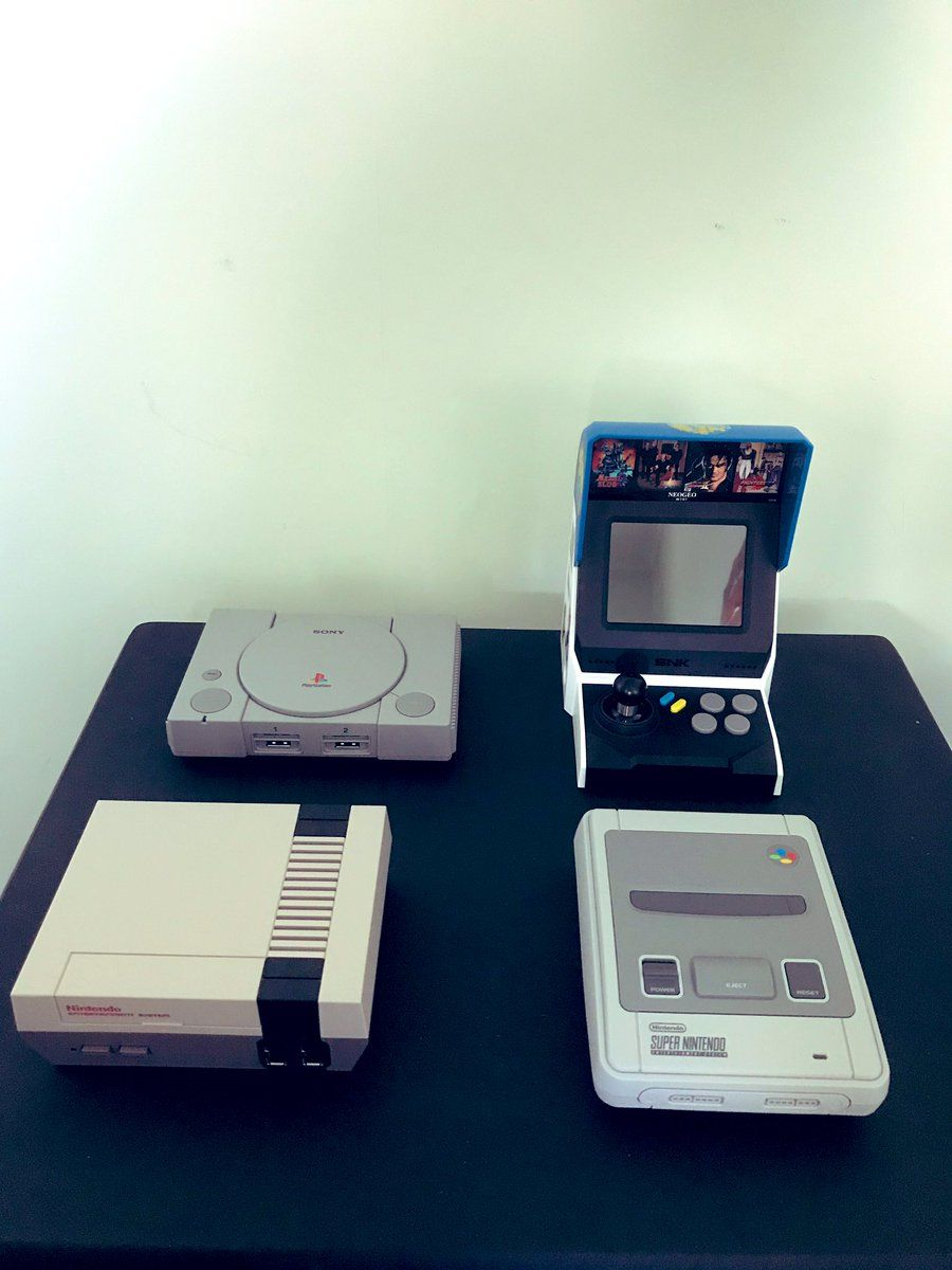 I'm a real sucker for these mini consoles! What ones do