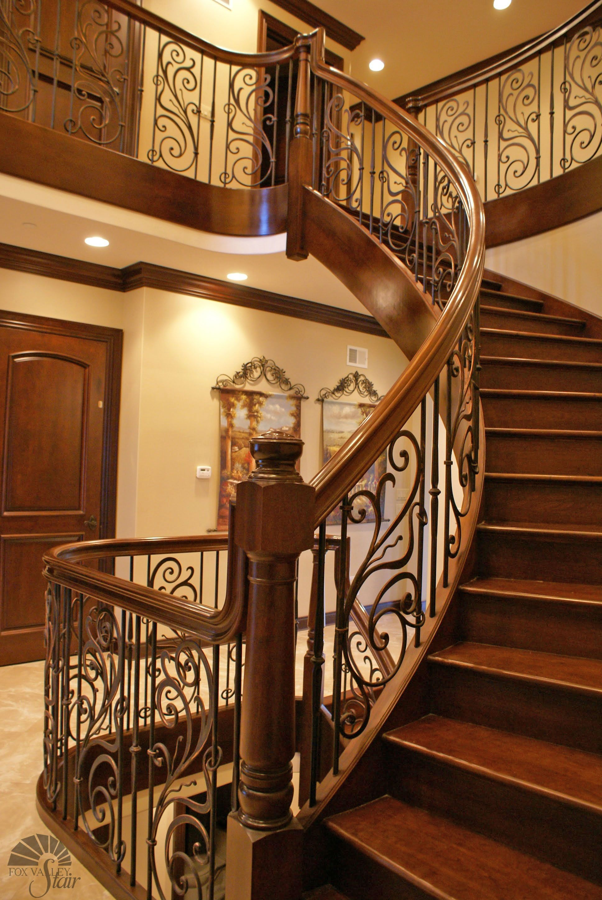 Best View To The Upper Level Stairs Brazilian Cherry Home 400 x 300