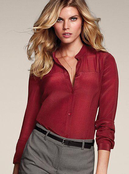 Blusas De Vestir Para Ejecutivas Elegantes Blusas De