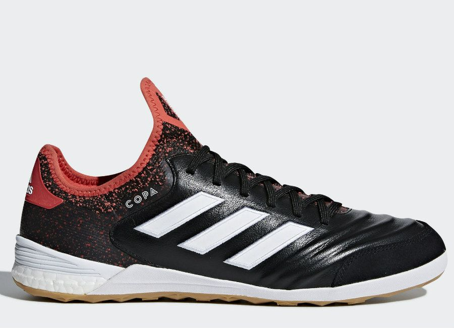 the latest 98430 0aa8a football soccer futbol adidasfootball futsal Adidas Copa Tango 18.1 IN  Cold Blooded - Core Black  Ftwr White  Real Coral