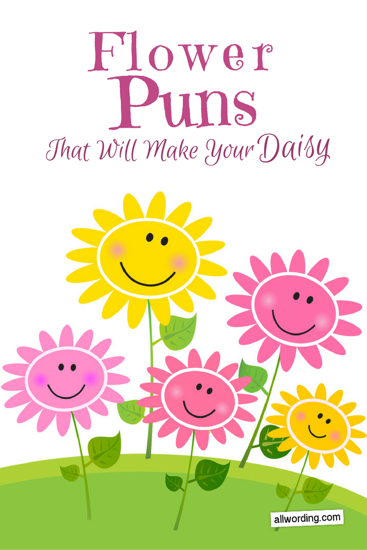 This List of Flower Puns Will Make Your Daisy | Flower