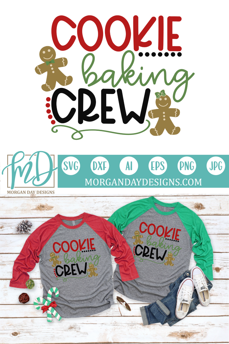 Cookie Baking Crew SVG Svg, Printable vinyl, Cricut projects