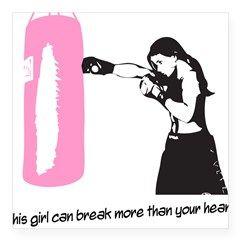 break-heart Square Sticker 3