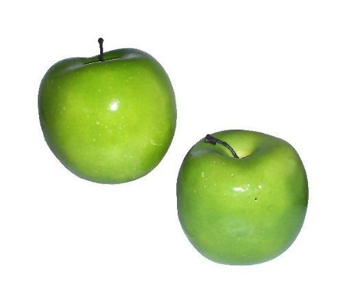 1pc Fake Green Plastic Apple Kitchen Fruit Artificial Fruits Home Decoration ** Details can be found by clicking on the image.