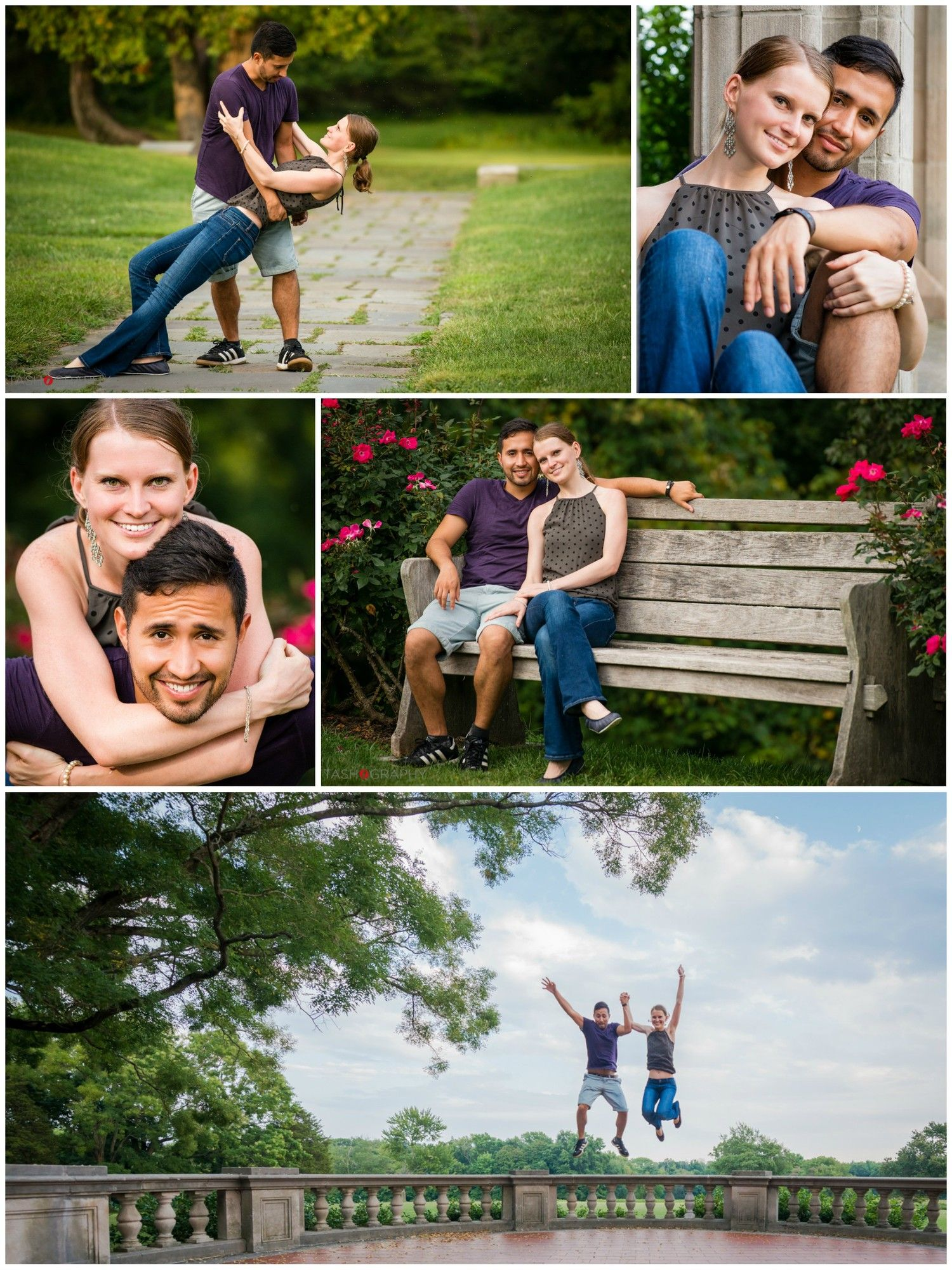 Couples portrait session anna andres at waveny park in new canaan