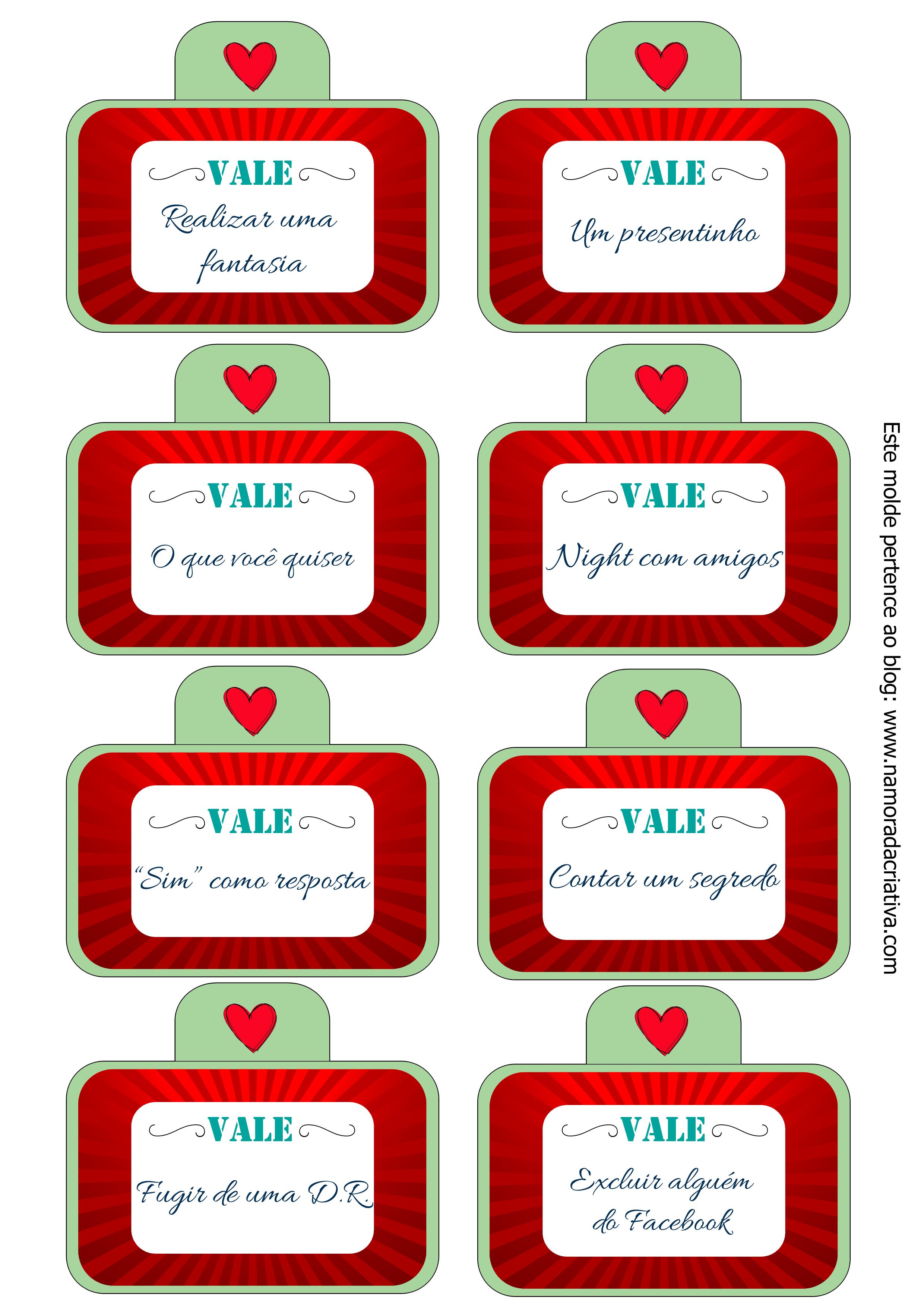 DIY Cupons Do Amor Resenha Da Caixa Vale Presente Da