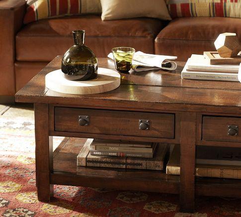Benchwright Rectangular Coffee Table Coffee Table Table Coffee Table Pottery Barn