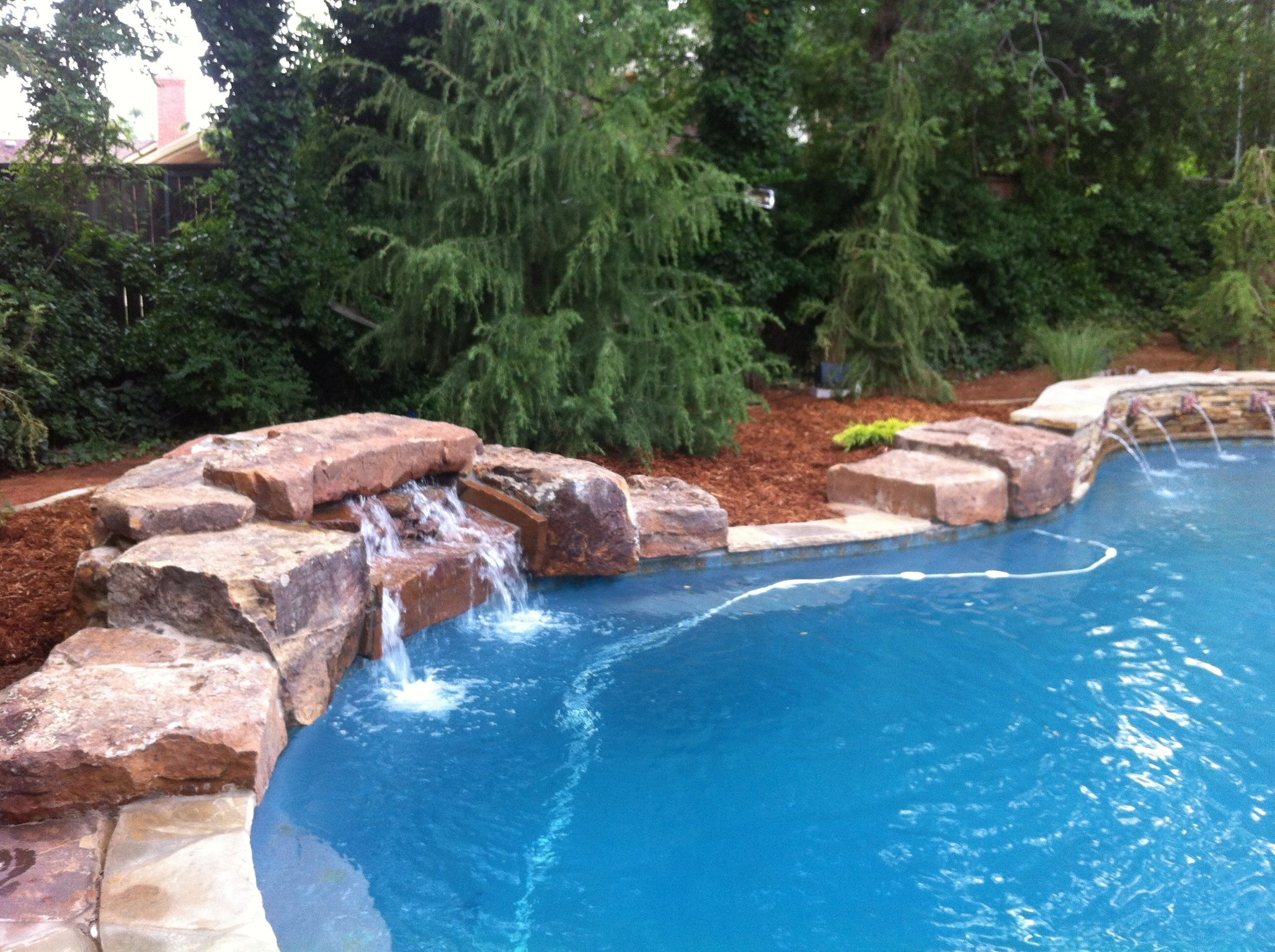 Pool Rock Water Features Best Home Renovation 2019 By Kellys Depot