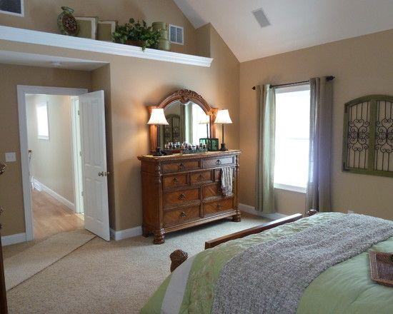 Decorative Ledge Design Ideas Pictures Remodel And Decor Vaulted Ceiling Bedroom Ledge Decor Master Decor