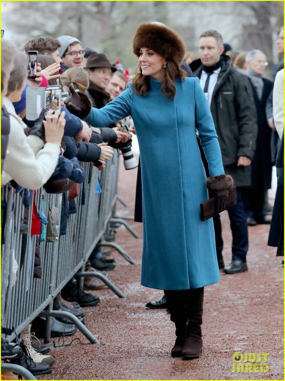Pregnant Kate Middleton In Norway, February 2018 | queen kate ...