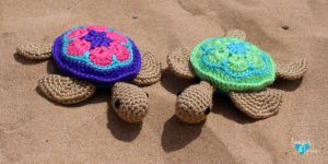 Sea Turtle Amigurumi Loops & Love Crochet #crochetturtles