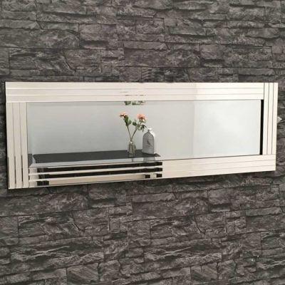 Full Length Clear Glass Triple Frame Mirror 120 x 40 cm | Frame ...