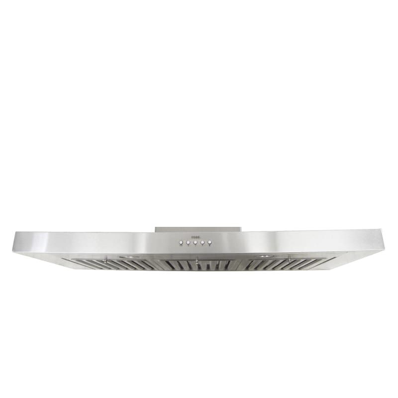 Kobe Rax2136sqb 1 Stainless Steel 300 550 Cfm 36 Inch Wide Stainless Steel Under Cabinet Range Hood With Led Lighting From The Brillia Collection Range Hood Under Cabinet Range Hoods Range Hoods