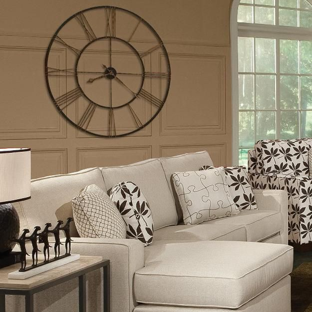 Large Wall Clocks Are Not Only Functional Room Decor Accessories But They Make Fantastic Decorations For Outdoor Living Es