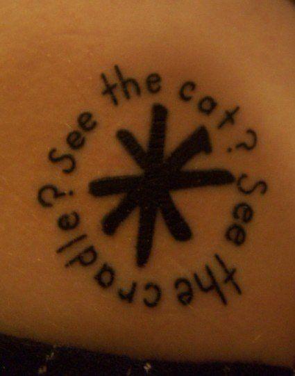 Kurt Vonnegut Tattoo Cats Cradle Breakfast Of Champions Tattoo Idea Literary Tattoos Tattoos Cats Cradle