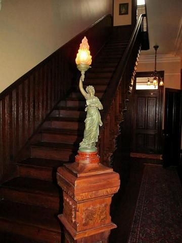 Newel Post Light Victorian Stairs Newel Posts Victorian Homes