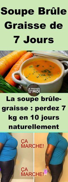 La soupe brûle-graisse : perdez 7 kg en 10 jours naturellement !