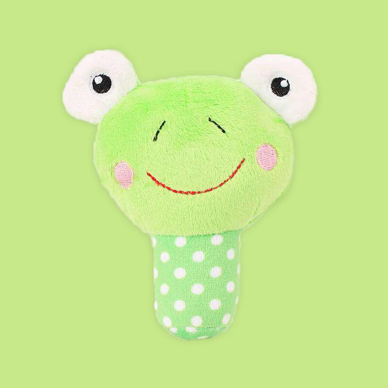Pluszowa żabka z piszczałką, zabawka dla psa Hello kitty