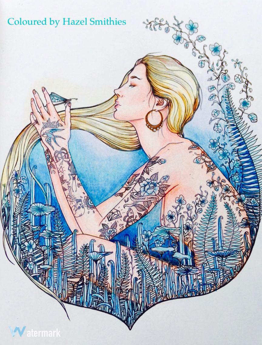 Dagdrommar - Hanna Karlzon in Prismacolor Premier pencils. Followed ...