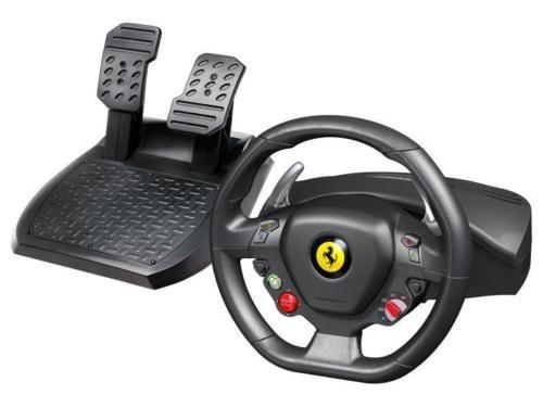 Thrustmaster Ferrari 458 Italia Gaming Steering Wheel Xbox 360 Pc 4460094 Controllers Accessories Ferrari 458 Racing Wheel Ferrari 458 Italia