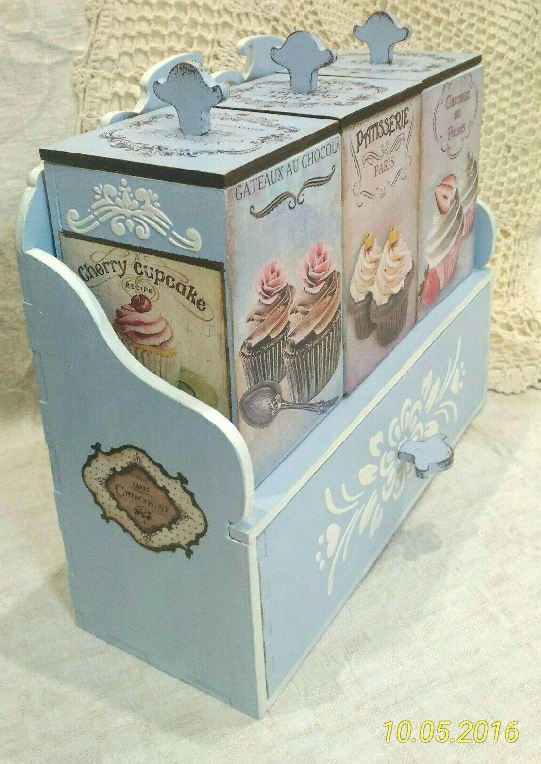 juego de tarros para cocina. | COUNTRY ART | Pinterest | Cajas ...