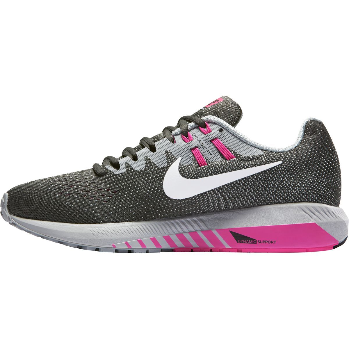 0608 849576 Nike Air Zoom Structure 20th Anniversary Women Black Pink 36 39