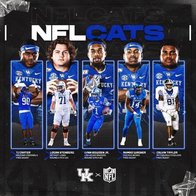 Kentucky Football UKFootball RecruitAndDevelop NFLCats