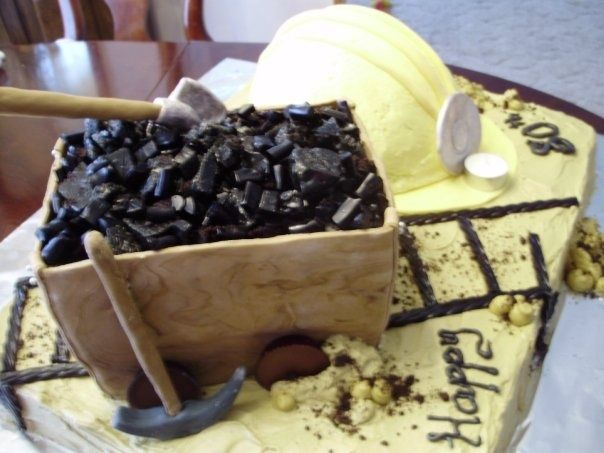Coal Miners Cake My Cakes And Other Yummy Things I Make