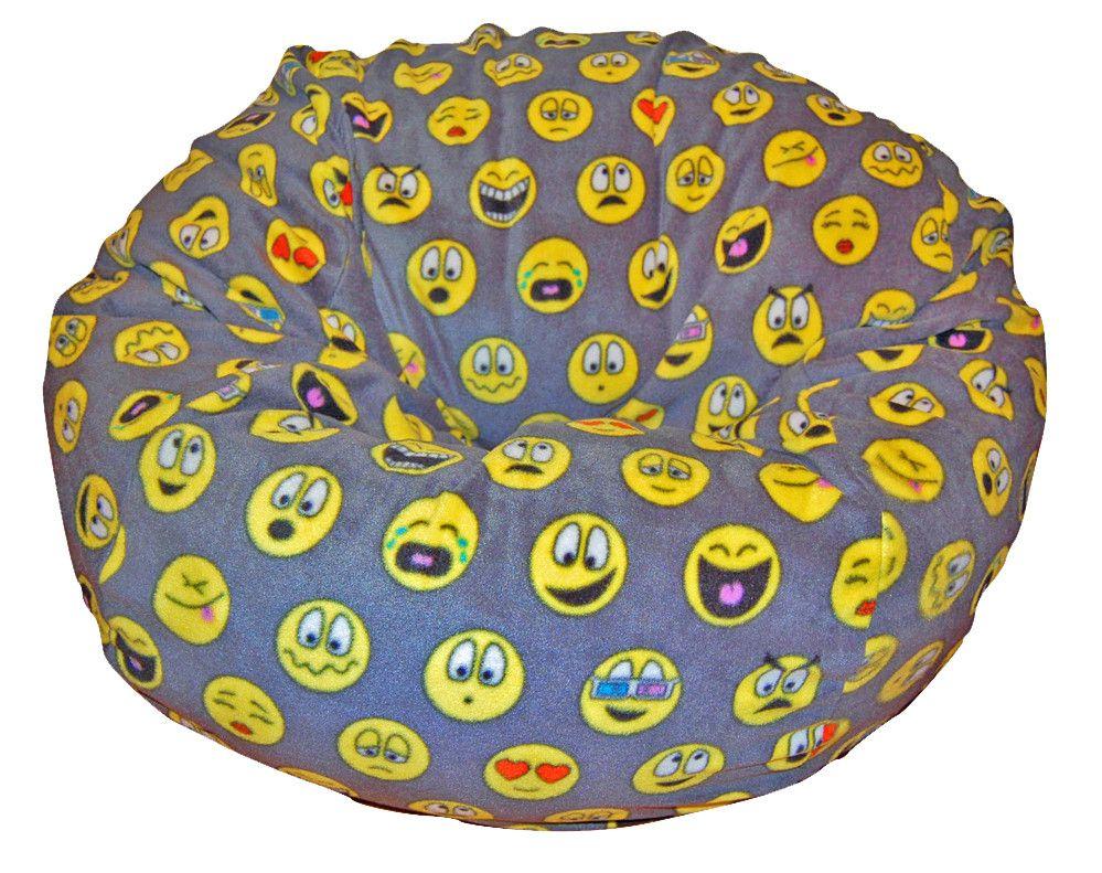 Terrific Emojis Bean Bag Chair R A N D O M Bean Bag Chair Large Forskolin Free Trial Chair Design Images Forskolin Free Trialorg