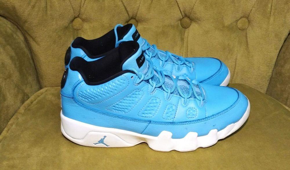 quality design 238ff a35c4 Nike Air Jordan 9 Retro Low Pantone University Blue 832822-401 Mens Size 8