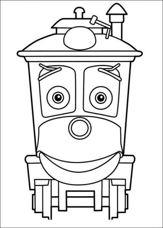 Chuggington Coloring Pages Picture 7 | 1st birthday | Pinterest ...