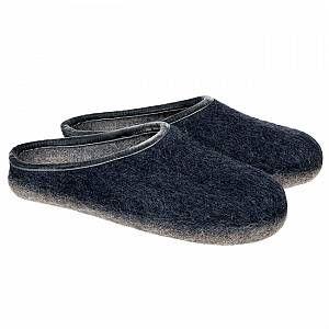 Photo of HAUNOLD pantofole in puro feltro lana nel colore blu