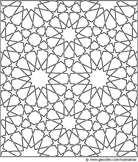 Znalezione Obrazy Dla Zapytania Islamic Patterns Step By Step Background Drawing Geometric Patterns Arap Deseni Sanat Desen