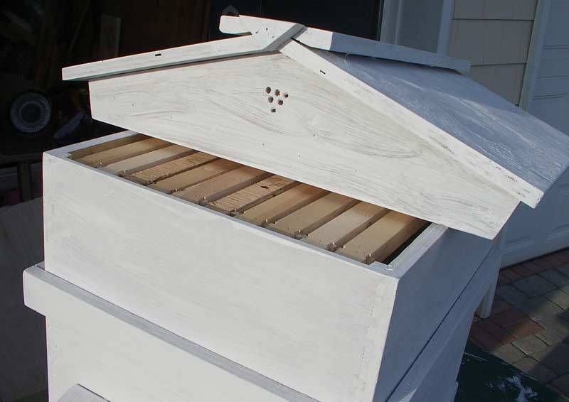 Bee Hive Plans | Bee Hive - 10 Frame Langstroth Beehive - by ...